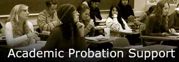 Academic Probation Support Page