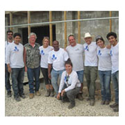 ARCE faculty and students in Haiti
