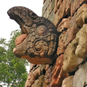 Picture of Mayan Ruins Eagle