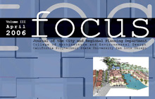 Image of a portion of the cover of the Focus publication