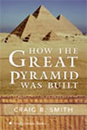 Photo of the cover of the book showing a pyramid