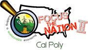 Logo for Focus the Nation