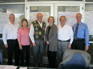 Dean Jones with PDCI Advisory Board members