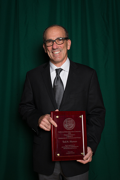 Image of Ted Hyman at Honored Alumni Ceremony 2014