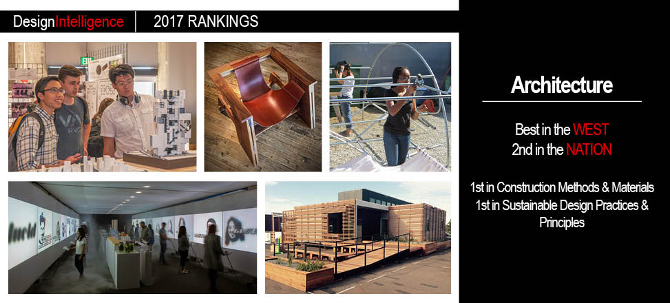 Cal Poly Bachelor of Architecture Ranks Second in the Nation and Best in the West