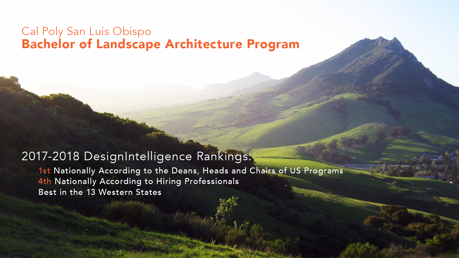 Landscape Architecture Best in the West