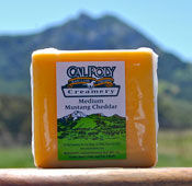 Medium Cheddar Cheese Photo