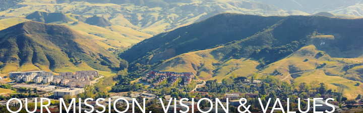 Our Mission, Vision, and Values