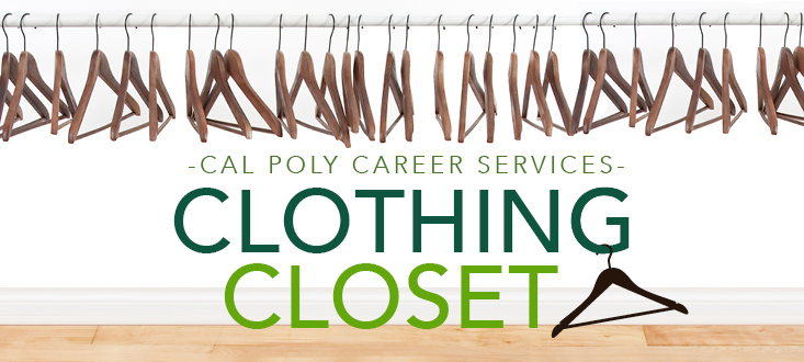 Cal Poly Career Services Clothing Closet