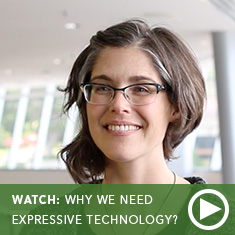 Why Do We Need Expressive Technology? - Jane Lehr