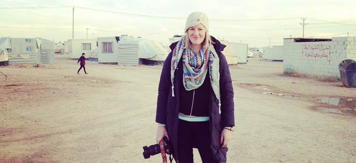 Heather Finnecy travelled throughout the Middle East