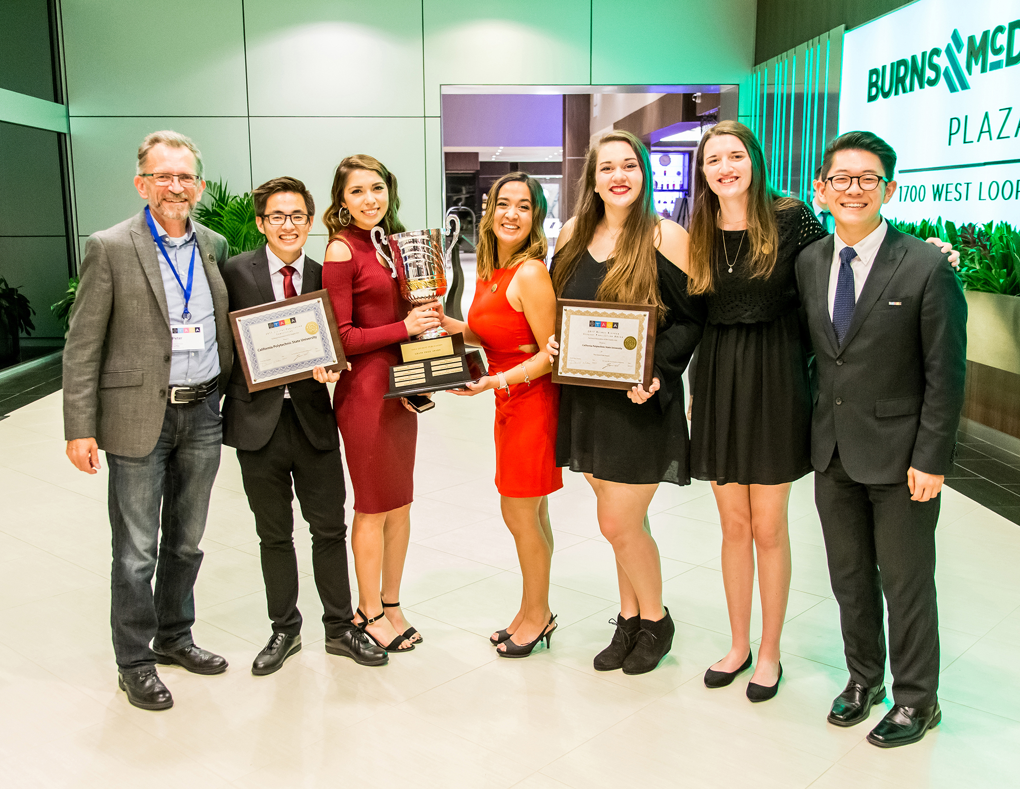 Cal Poly Wins TAGA Grand Prize 2017