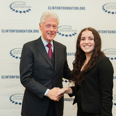 LAES Major Interns at Clinton Foundation - Gabrielle Amar