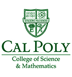 Cal Poly College of Science and Mathematics logo
