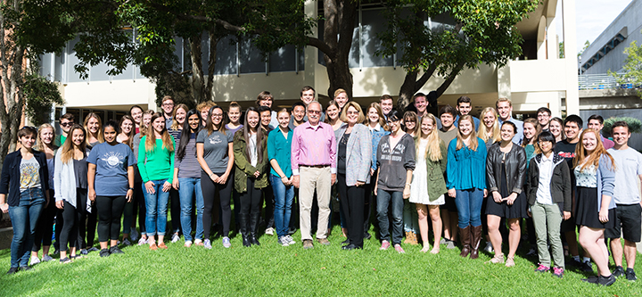 Frost Scholars group photo