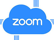 Zoom Cloud Icon