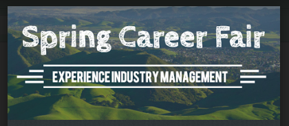 Cal Poly Experience Industry Management Career Fair