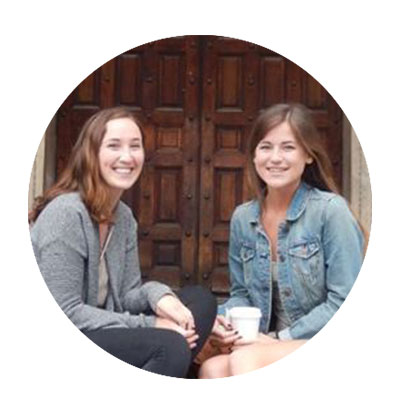 Molly Canfield and Madison Utley