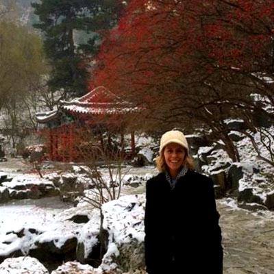 Kathryn Rummell in China