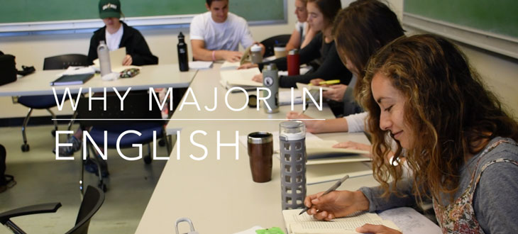 Why Major in English at Cal Poly? - Students in classroom