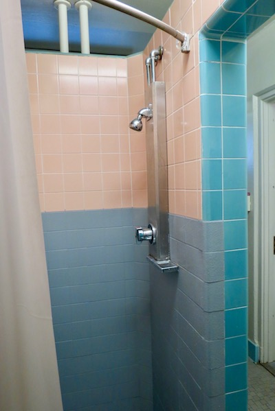 North Mountain shower stall
