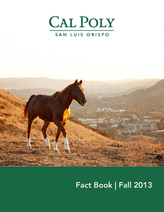 Fall 2013 Fact Book cover - link to PDF