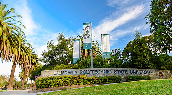 Cal Poly Entrance