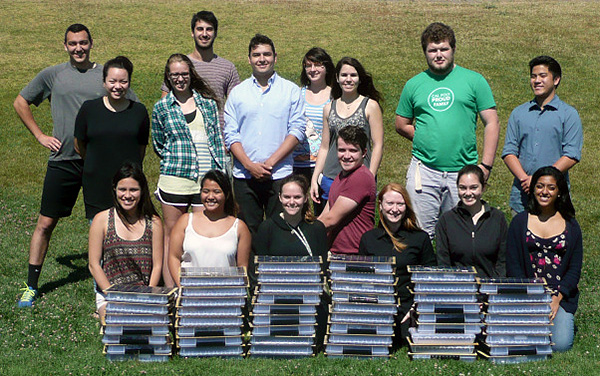 LAES 411 Class with solar kits