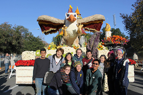 Photo of 2015 Rose Float Design Committee
