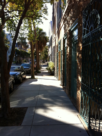 Photo of Walkable Street in Charleston
