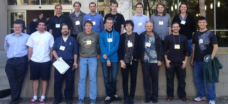 Cal Poly physics folks at the APS Far West Section 2013 annual meeting