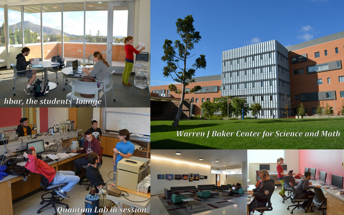 Our new home at the Warren J Baker Center for Science and Math