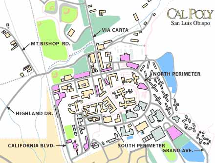 Cal Poly Whole Map