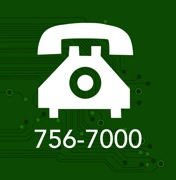 Contact Information Security at 756-7000