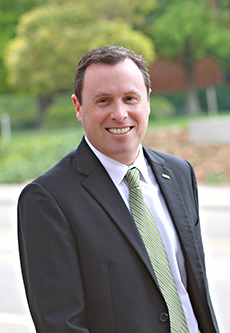 Keith Humphrey Vice President for cal poly student affairs