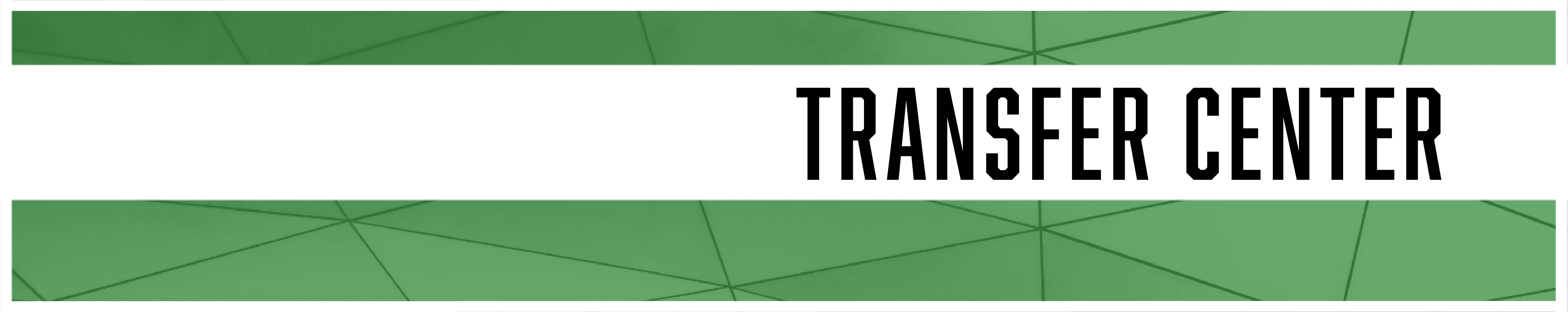 Transfer Center Banner Link
