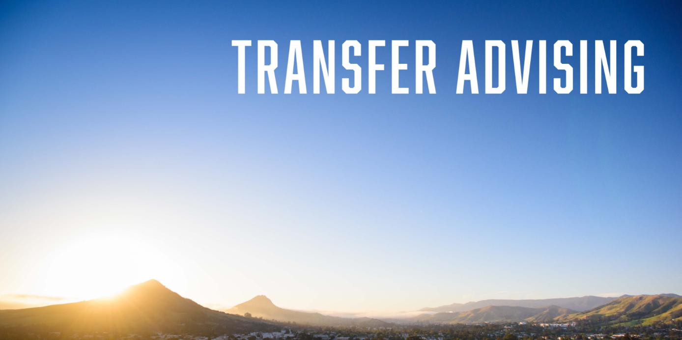 Transfer Advising Banner