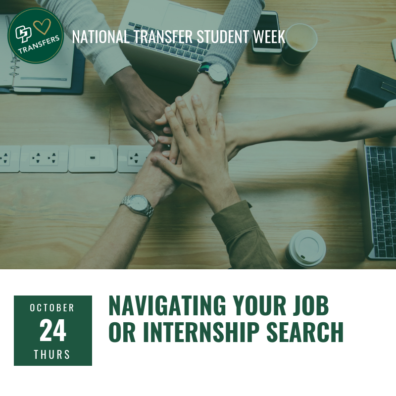 Navigating your job/internship search image