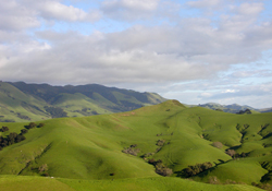 Hills around Cal Poly Ranches