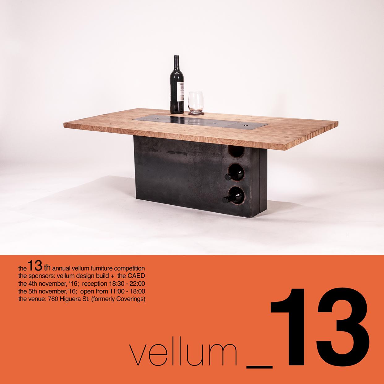 Furniture Design Exhibition vellum/caed furniture competition & exhibition - architecture