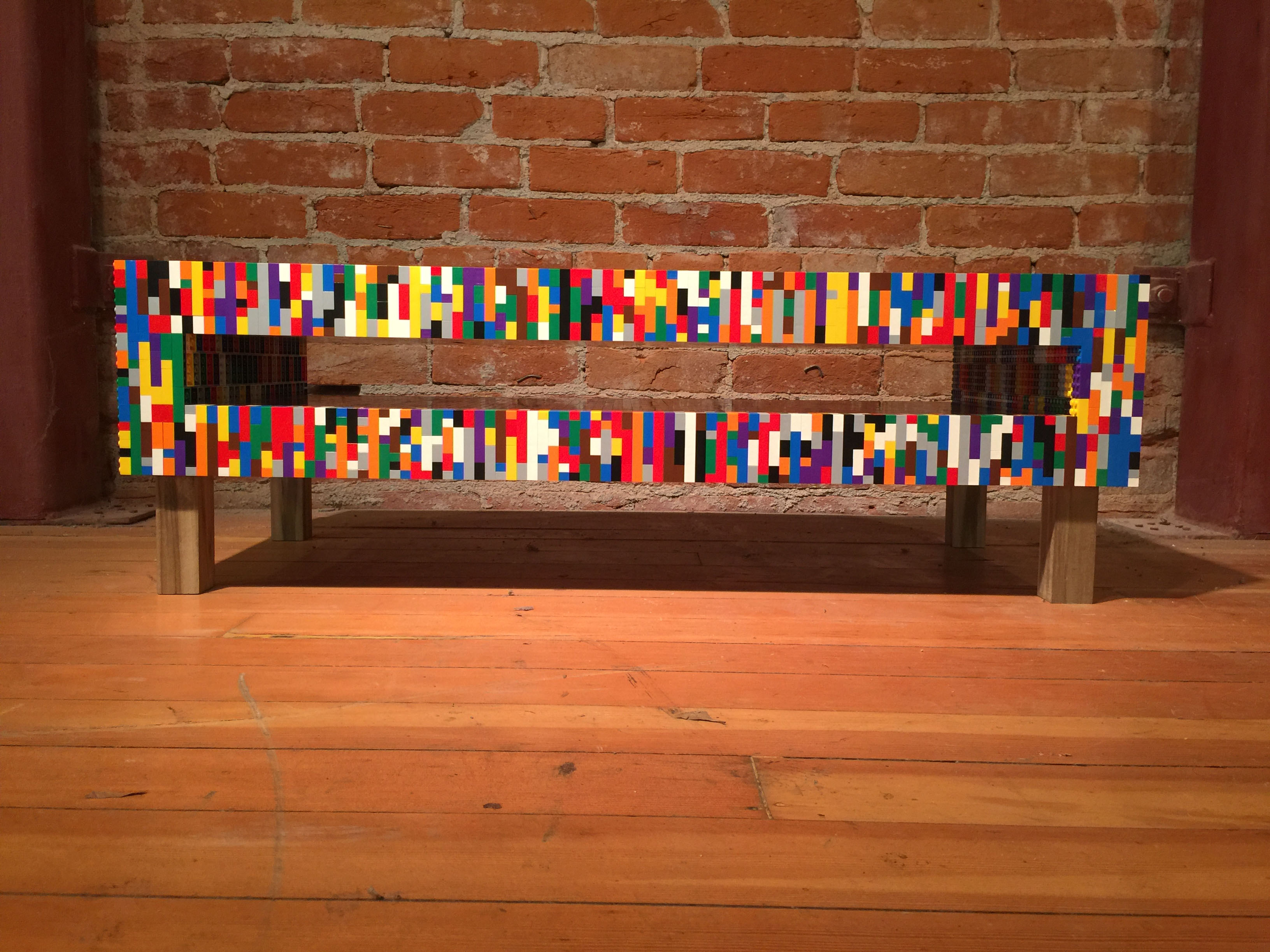 Lego coffee table by Moore + Prendergast