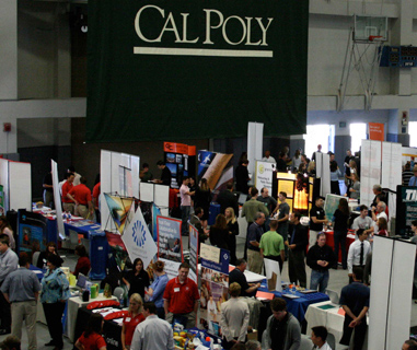 cal poly career fair