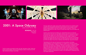 Winter Film Series 2001 A Space Odyssey