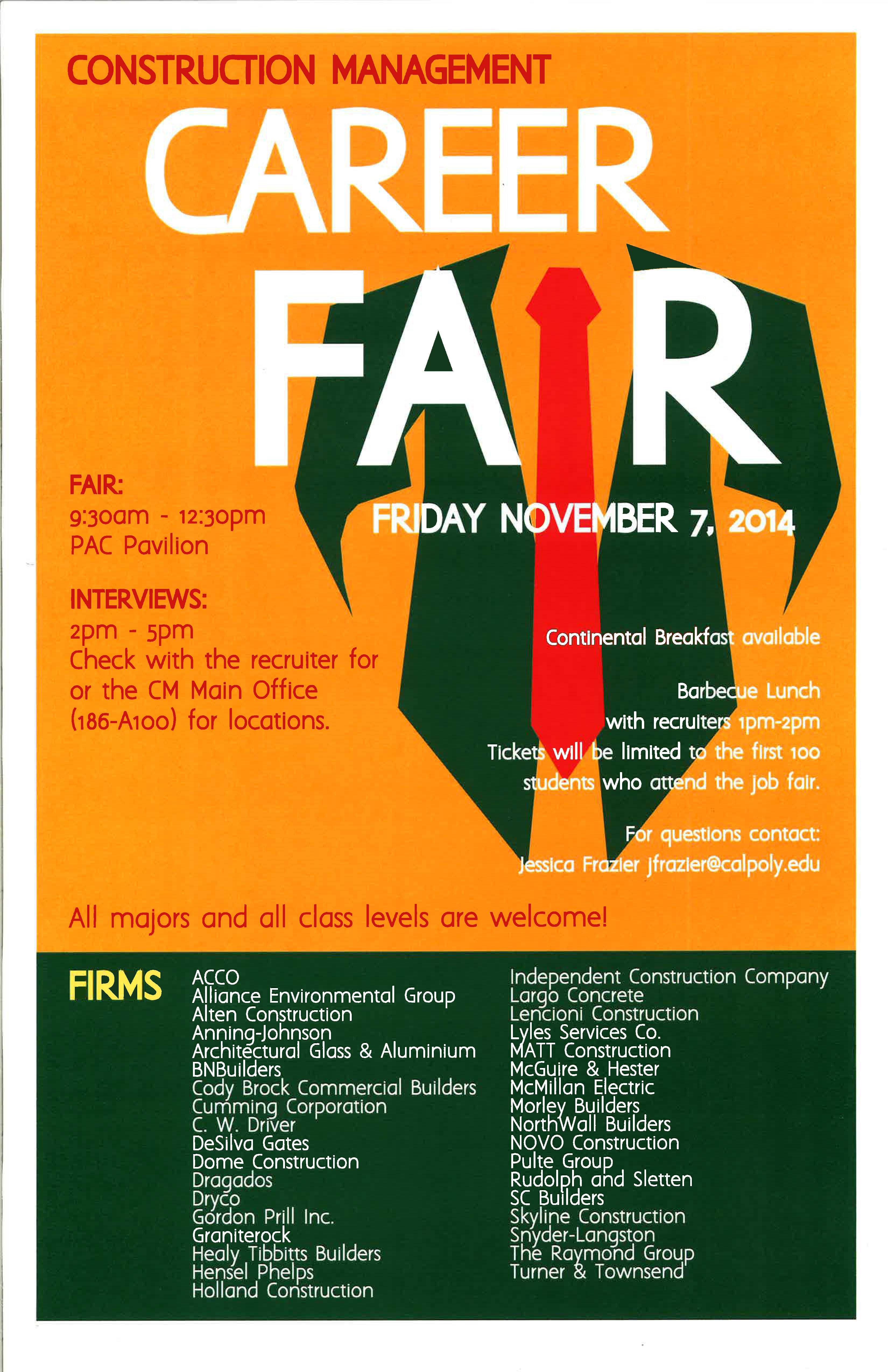 Banner design for job fair - Construction Management Career Fair