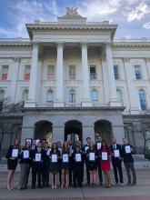 Cal Poly students honored at State Capitol