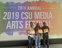 Photography/Video Student Wins First Place at CSU Media Arts Festival Awards