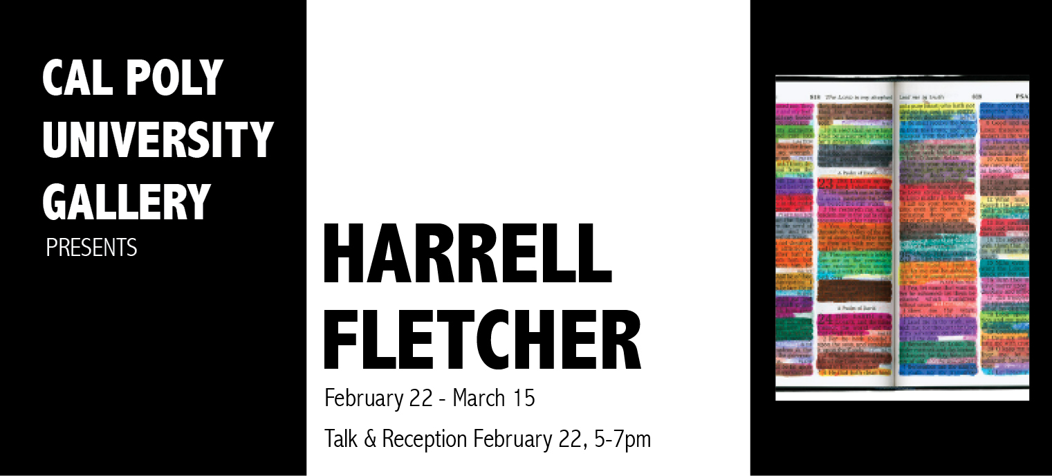 Harrell Fletcher Exhibit