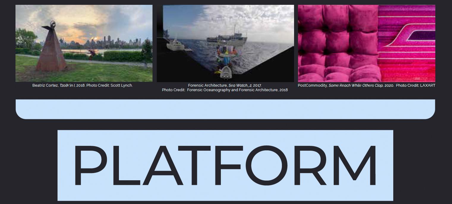 Platform event graphic
