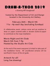 Draw-a-thon poster