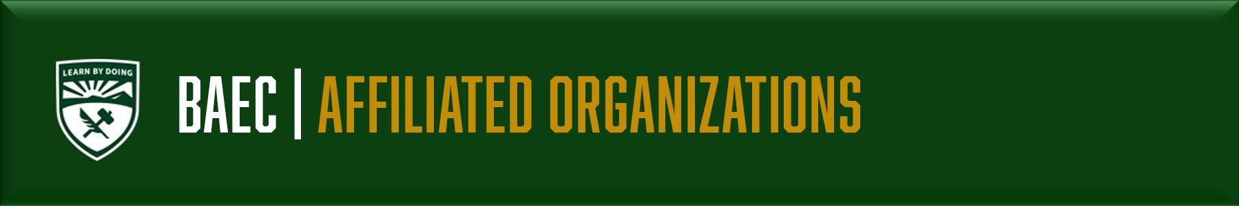 BAEC - Affiliated Orgs